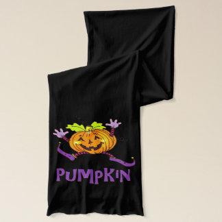 Glücklicher Kürbis-Spaß Halloween Schal