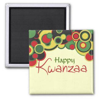 Glücklicher Kwanzaa-Kühlschrankmagnet