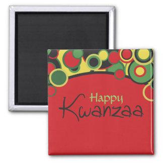 Glücklicher Kwanzaa-Magnet Kühlschrankmagnete