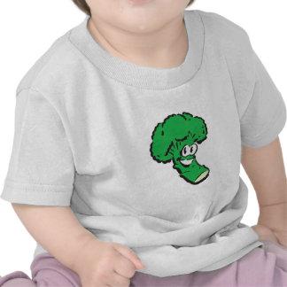 glücklicher lächelnder Brokkoli Hemd