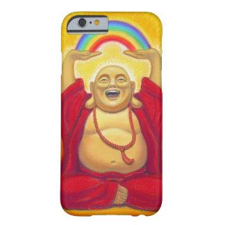 Glücklicher lachender Regenbogen-Buddha iPhone 6 Barely There iPhone 6 Hülle