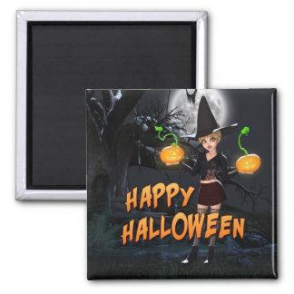 Glücklicher Magnet Halloweens Skye Magnets