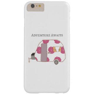 Glücklicher Mensch - Abenteuer erwartet Barely There iPhone 6 Plus Hülle