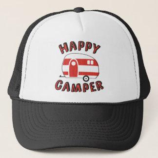 Glücklicher Mensch Truckerkappe