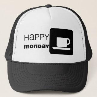 Glücklicher Montag-Spaß! Truckerkappe