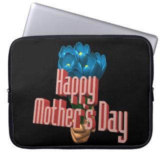 Glücklicher Mutter-Tag 3 Computer Schutzhülle