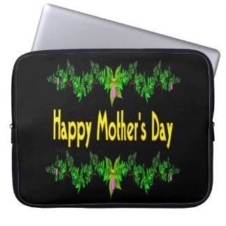 Glücklicher Mutter-Tag Laptop Computer Schutzhülle