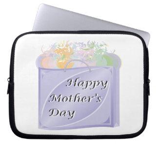 Glücklicher Mutter-Tag Computer Sleeve Schutzhüllen