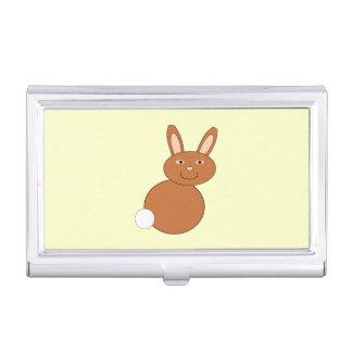 Glücklicher Osterhasen-Visitenkarte-Halter Visitenkarten Etui