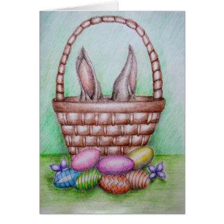 glücklicher Ostern-Tag! Karte