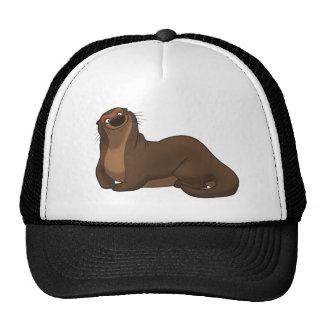 Glücklicher Otter-Hut Mützen