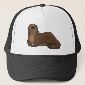 Glücklicher Otter-Hut Truckerkappe