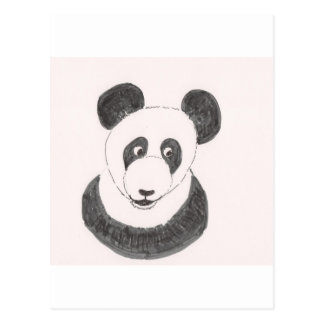 Glücklicher Panda Postkarte