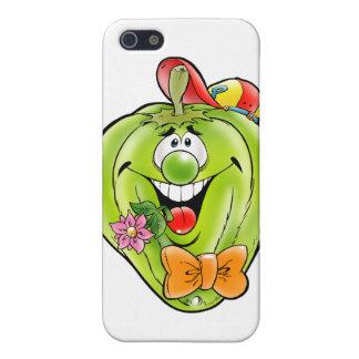 Glücklicher Paprika Schutzhülle Fürs iPhone 5