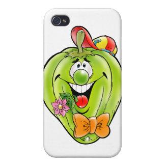 Glücklicher Paprika iPhone 4 Case