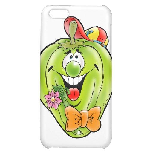 Glücklicher Paprika iPhone 5C Hülle