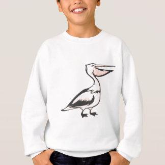 Glücklicher Pelikan-Vogel Sweatshirt