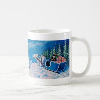 Glücklicher Pinguin Kaffeetasse