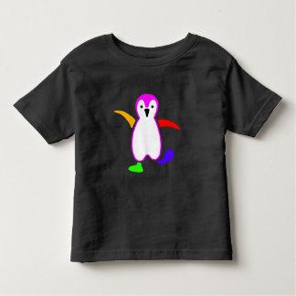 Glücklicher Pinguin Kleinkind T-shirt