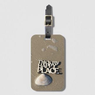Glücklicher Platz-Gepäckanhänger II Kofferanhänger