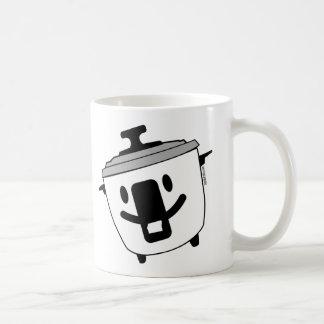 Glücklicher Reis-Kocher Kaffeetasse
