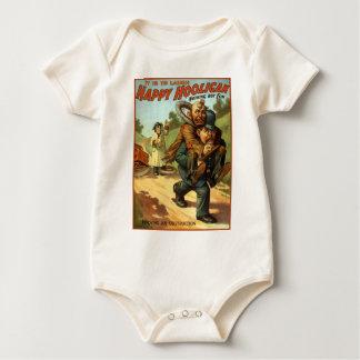 Glücklicher Rowdy - Entfernen Baby Strampler