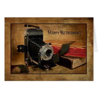 Glücklicher Ruhestand für Fotografen Grußkarte