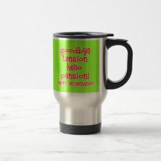Glücklicher Ruhestand! T-Shirts und Rentner-Gesche Kaffee Tasse