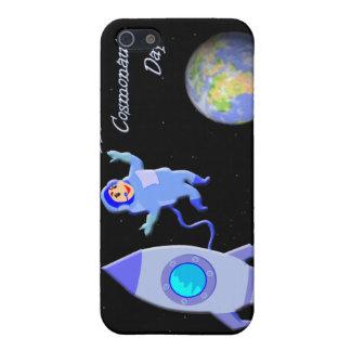 Glücklicher russischer Kosmonaut-Tag am 12. April iPhone 5 Etui