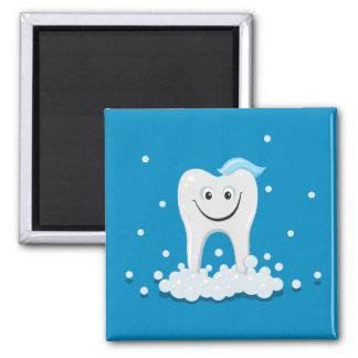 Glücklicher sauberer Zahn Magnete
