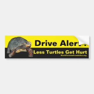 Glücklicher Schildkröten-Auto-Aufkleber Autoaufkleber