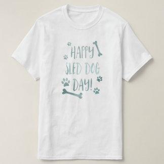 glücklicher Schlitten-Hundstag Shirts