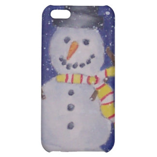 Glücklicher Schnee iPhone 4 Fall iPhone 5C Cover