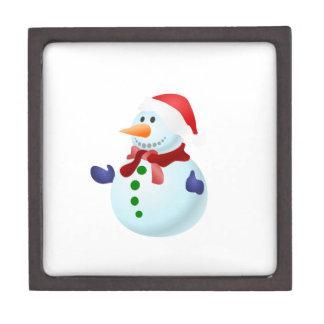 Glücklicher Schneemann Schachtel