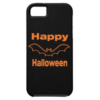 Glücklicher schwarzer Schläger Halloweens Tough iPhone 5 Hülle