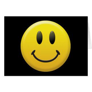 Glücklicher Smiley Karte