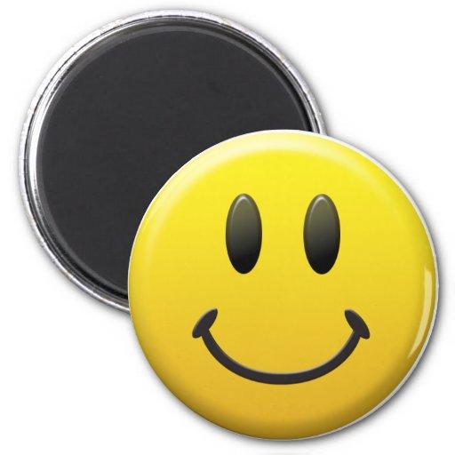 Glücklicher Smiley Magnets