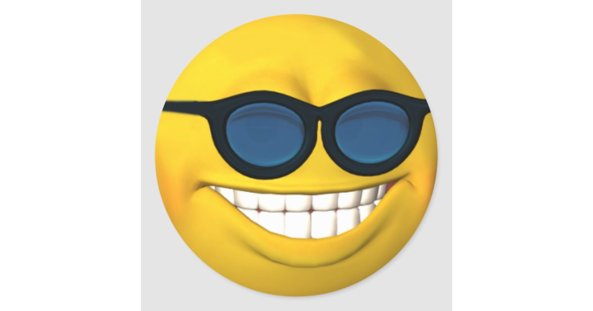 Smiley Mit Sonnenbrille