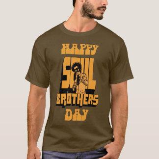 Glücklicher Soul-Bruder-Tag - Bronze T-Shirt
