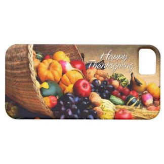 Glücklicher Speck-Kasten des Erntedank-12 Barely There iPhone 5 Hülle