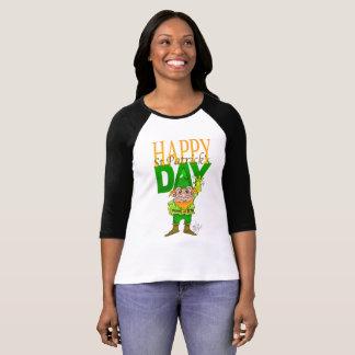 Glücklicher St.Patrict Tag, Shirt für Frau