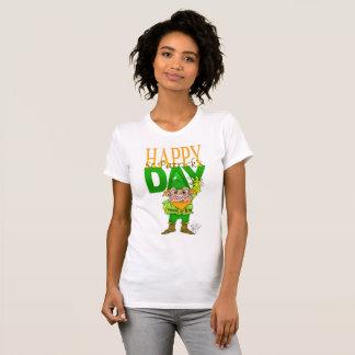 Glücklicher St.Patrict Tag, T - Shirt für Frau