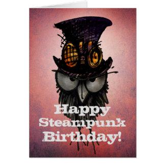 Glücklicher Steampunk Geburtstag! - Lustige Karte