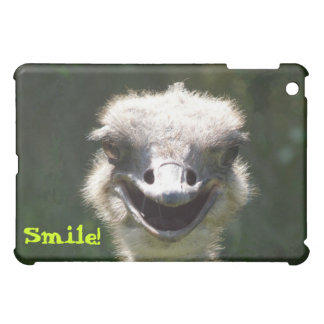 Glücklicher Strauß, Lächeln! - Spaß Hüllen Für iPad Mini