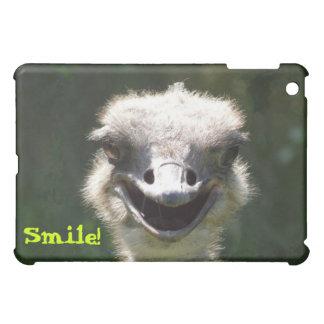 Glücklicher Strauß, Lächeln! - Spaß iPad Mini Hülle