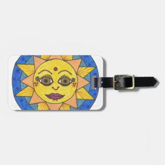 Glücklicher Sun Gepäckanhänger