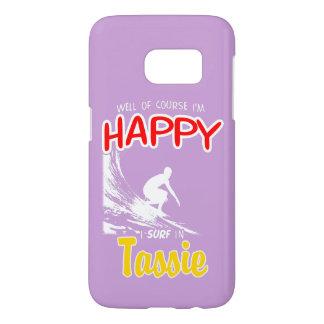 Glücklicher Surfer TASSIE (weiß)