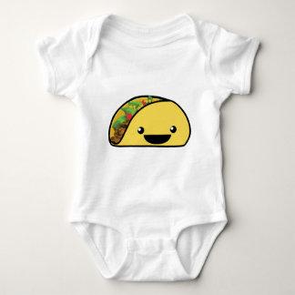 Glücklicher Taco Baby Strampler