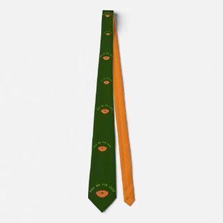 Glücklicher Tag Bedruckte Krawatte