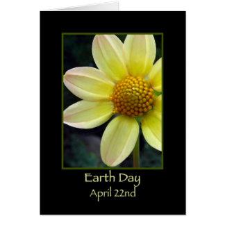Glücklicher Tag der Erde am 22. April Grußkarte